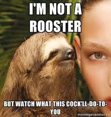 Dirty sloth meme   NSFW Funny Stuffs   Pinterest   Sloth Memes ... via Relatably.com