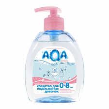 <b>AQA baby Средство для</b> подмывания девочек купить по цене 243 ...