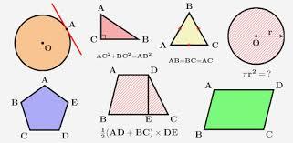 <b>Geometric Shapes</b>: Triangles & Circle <b>Geometry</b> Quiz - Apps on ...