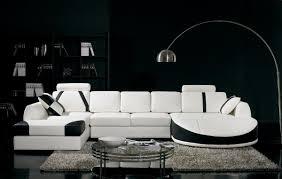 glimt livingroom black sofa black  black white sectional sofa set black