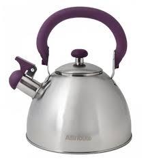 <b>Attribute Чайник</b> со свистком <b>Festival</b> 2,5 л — купить по выгодной ...