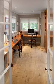 built in desk ideas home office traditional with ladder back chairs roller shades built office desk ideas