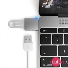 USB-<b>адаптер Satechi</b> USB 3.0 to <b>USB</b>-<b>C Adapter</b> Space Gray ...