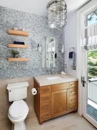 coastal bathroom designs: blue coastal transitional bath pictures double duty bathroom