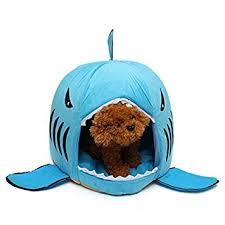 Pinkdose® Pinkdose Blue, L: Cute <b>Pet Products</b> Sleeping <b>Shark Cat</b> ...