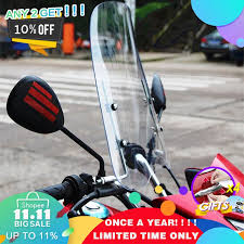 <b>Universal motorcycle windshield</b> scooter <b>windscreen deflector</b> ...