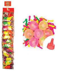 <b>Набор воздушных шаров Поиск</b> Водяные бомбочки Неон (100 шт.)