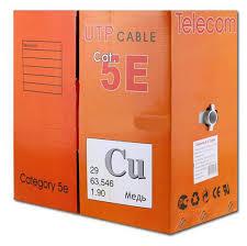 <b>Сетевой кабель Telecom CU</b> UTP cat.5e 4 пары 305m UTP4 ...