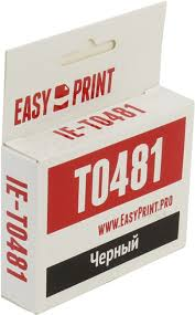 <b>Картридж EasyPrint IE-T0481</b> Black для Epson St Photo R200/220 ...