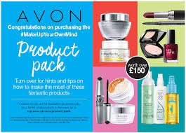 make up your own mind avon favourite kit avon make up your own mind flyer