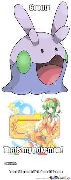 Goomy: The Vocaloid Pokemon by thunderheart396 - Meme Center via Relatably.com