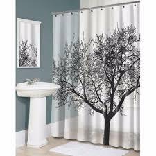 large size design black goldfish bath accessories: pcsnew shower curtain stylish black scenery tree design bathroom waterproof fabricchina mainland