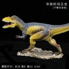 (feather #dragon) <b>Dinosaur</b> Toy Tyrannosaurus Rex <b>Simulation</b> ...