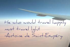 Image result for travelling light