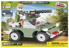 Купить <b>Конструктор Cobi</b> Small Army 2155 Джип со станковым ...