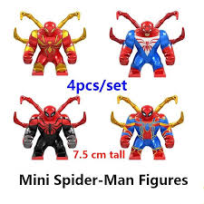 <b>New Superheroes Avengers 4</b> Spider Man Mysterio marvel ...