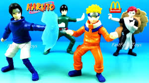 <b>NARUTO</b> McDONALD'S HAPPY MEAL TOYS FULL <b>SET</b> 4 <b>NARUTO</b> ...