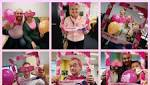 IN THE PINK: Council leader dyes his hair for good cause