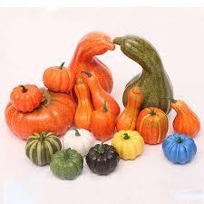 <b>Fake</b> Vegetable <b>Pumpkin Simulation Halloween Artificial Pumpkin</b> ...