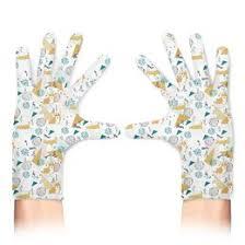 """Перчатки c необычными принтами """"Собаки"""" - <b>Printio</b>"""