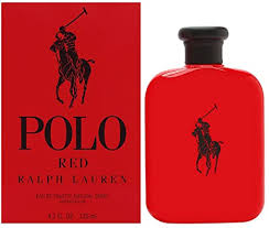 <b>Ralph Lauren Polo Red</b> for Men - Eau De Toilette Spray, 4.2 ounces ...