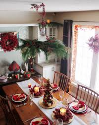 Christmas Dining Room Creating A Cozy Country Christmas Dining Room Sober Julie
