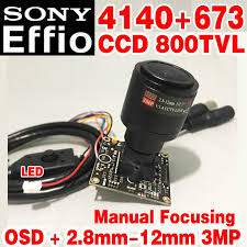 "Online Shop <b>1</b>/<b>3""Sony CCD Effio 4140dsp</b>+<b>673</b> Real 800tvl hd Mini ..."