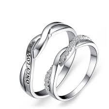 """<b>Only Love</b> You""Simple Creative <b>Couple</b> Rings"