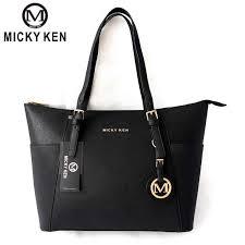 MICKY KEN <b>2019 New Women</b> Handbag PU Leather Crossbody ...