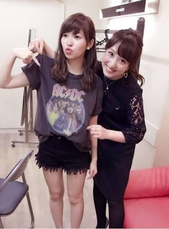 指原莉乃と川田アナ