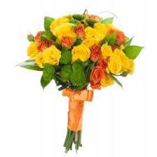 Купить <b>желтые розы</b>, букет из желтых роз с доставкой по Москве