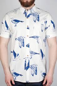 <b>Рубашка OBEY Seagull Port</b> Woven (Tan, M) | www.gt-a.ru