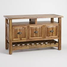 kitchen storage solutions dont skimp wood ransley sideboard with wine storage