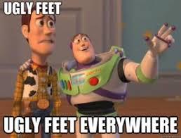 Ugly Feet Jokes | Kappit via Relatably.com