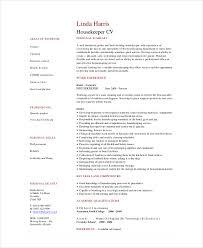 hospital housekeeping resume template housekeeper resumes