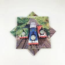 <b>10Pcs</b> Thomas Theme Halloween 16x16cm <b>Disposable</b> Paper ...