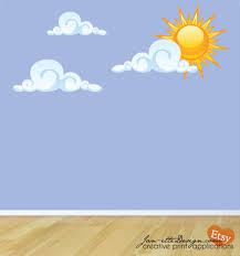 sun wall decal  sun wall decal sun wall decal smiley sun and