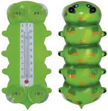 <b>Термометр уличный</b> Гусеница 9,5 * 20,5cm