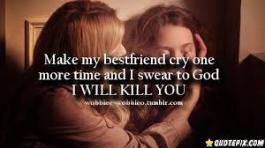 Best Friend Quotes That Make You Cry. QuotesGram via Relatably.com