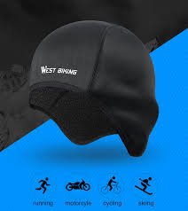 WEST <b>BIKING Winter Cycling</b> Caps Windproof <b>Warm</b> Fleece Bike ...