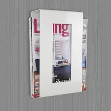 magazine rack wall mount:  incredible bathroom magazine rack for an interesting home decoration theme also bathroom magazine rack