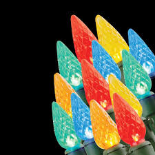 20 light battery operated led multi color c3 light set battery operated home lighting