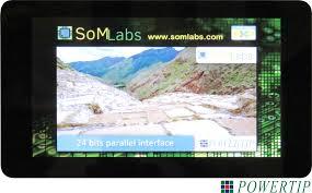 SL-TFT7-TP-<b>800</b>-<b>480</b> (5V version) - SoMLabs