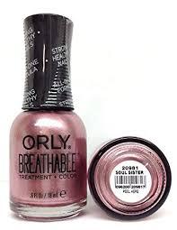 Orly Breathable Treatment & Nail Polish, Nudes Soul ... - Amazon.com