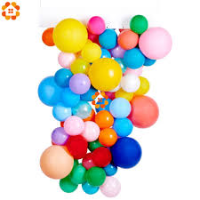 30pcs Orange Black Purple Latex <b>Balloons Halloween</b> Party ...