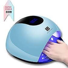 Buy UV <b>Nail Lamp</b> â'¬â€œ <b>80W</b> LED <b>UV Light for Gel</b> Nails, Faster ...