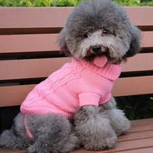Pet <b>Dog</b> теплая <b>одежда</b> пальто наряд <b>джемпер свитер</b> щенок ...