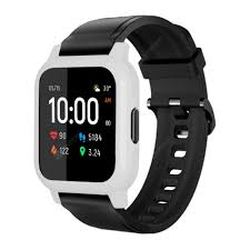 <b>TAMISTER</b> Smart Watch Case for Haylou LS02 White Smart Watch ...