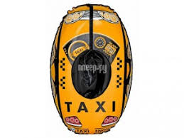 <b>Тюбинг</b> RT Машинка Taxi Snow Yellow
