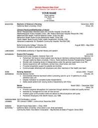 ideas about nursing resume on pinterest   rn resume  nursing    sample resume new grad nurse   http   resumesdesign com sample